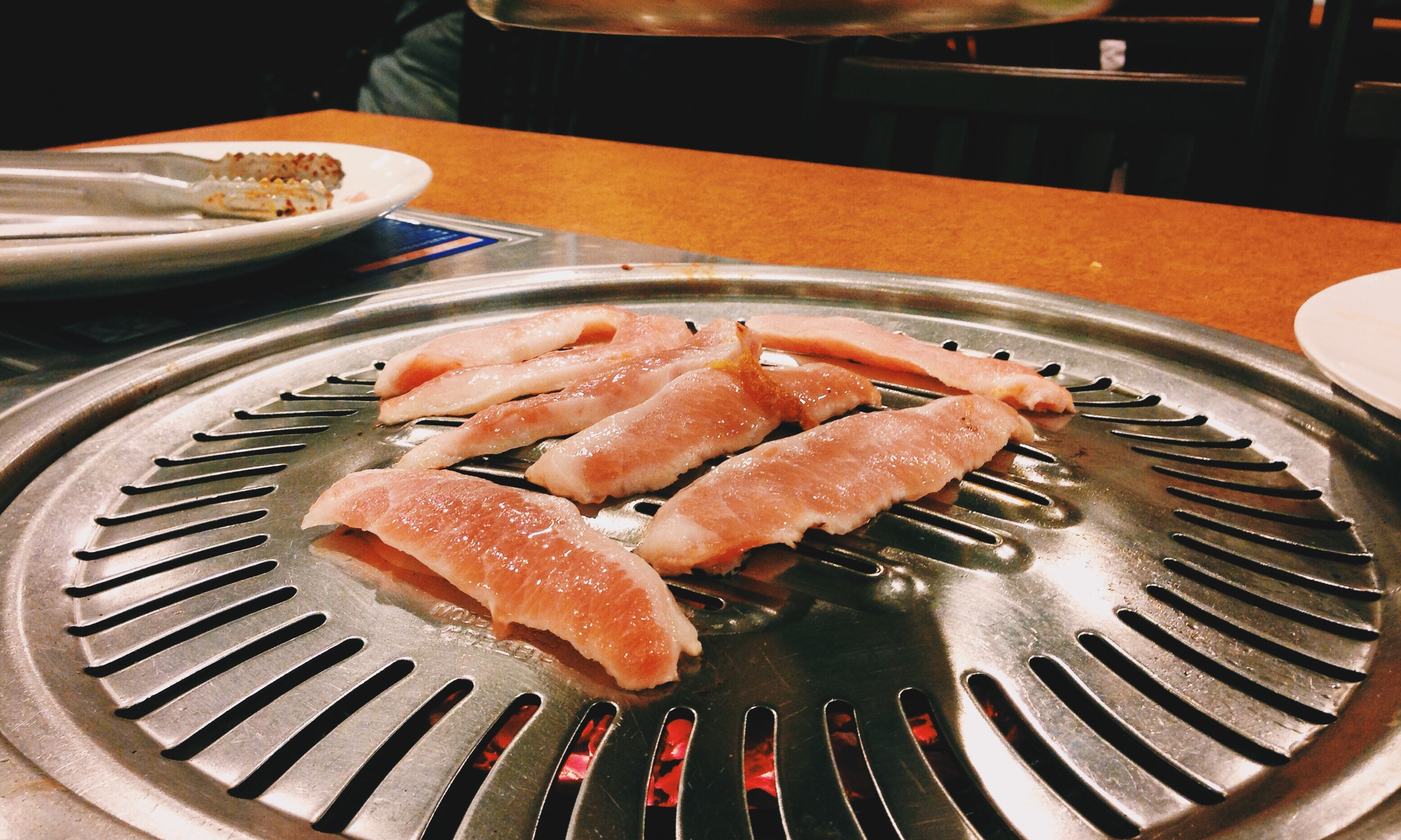 Sam Gyup Sal Is Indeed A Must Have When Visiting A Korean Bbq Restaurant The Juicyness Is So Mind Blowing